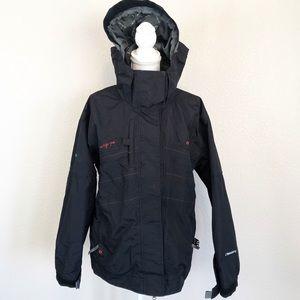686 Snowboarding Jacket Black sz L